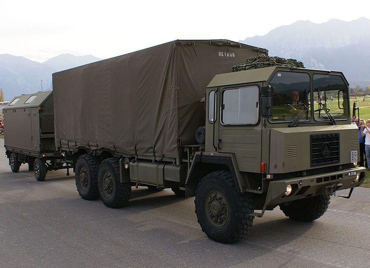 Saurer truck