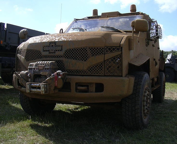 Oshkosh SandCat at DVD show