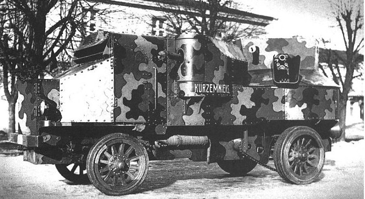 Unknown armored vehicle