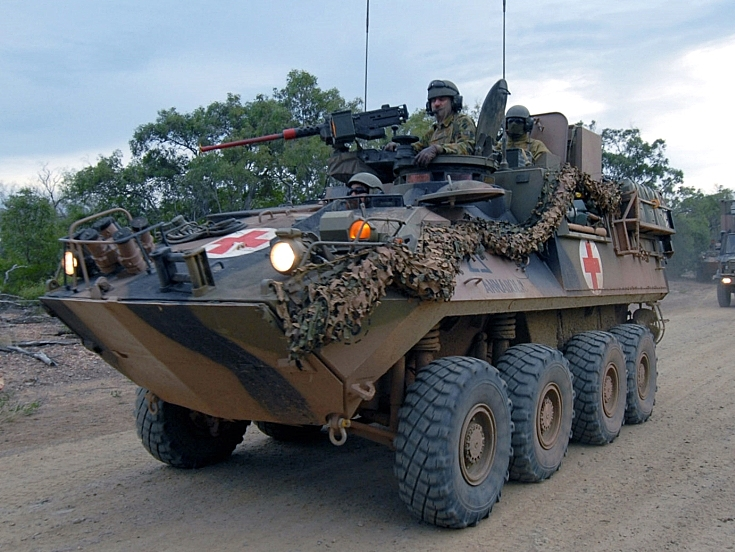 Australian Light Armoured Vehicle (ASLAV) LAV25