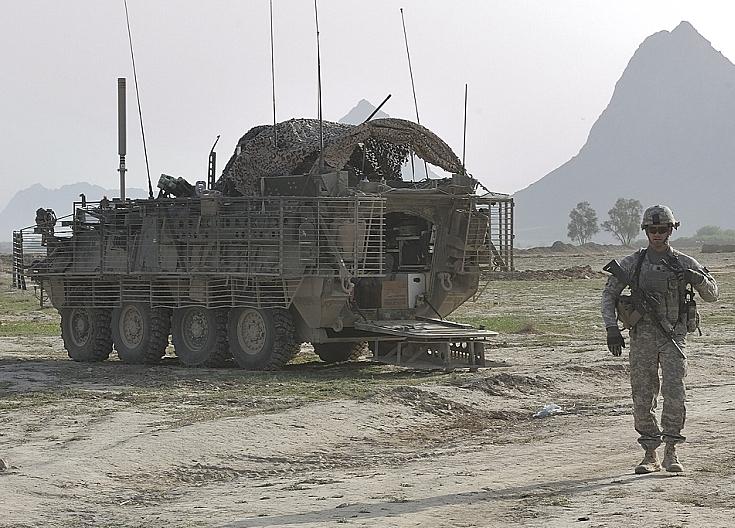 LAV in Afghanistan