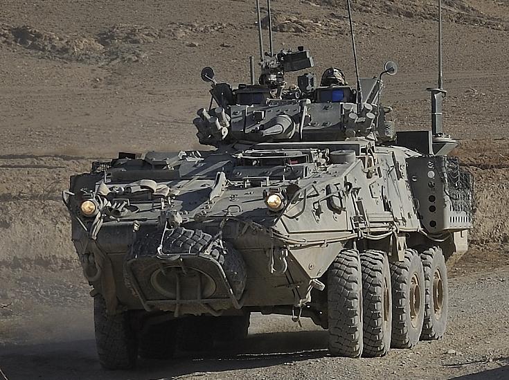 LAV III in Southern Afghanistan