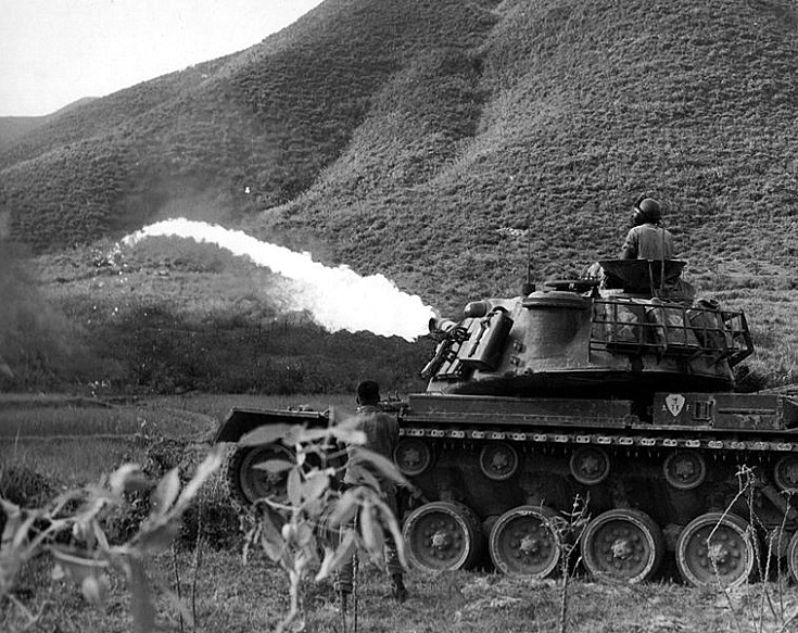 Flamethrower Tank