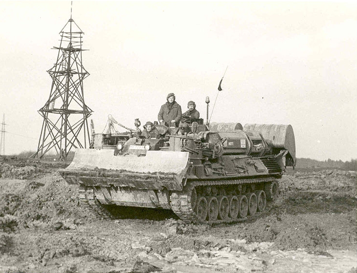 EWK Armored engineering vehicle