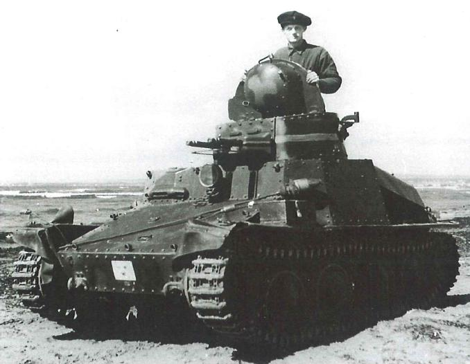 Swedish Strv m/37 light tank