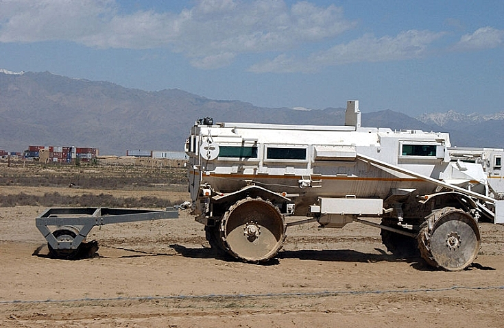 Casspir Mine-Protected Vehicle
