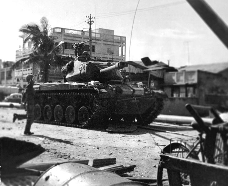 M41 in Saigon
