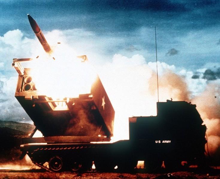 MLRS Multiple Launch Rocket System Launcher