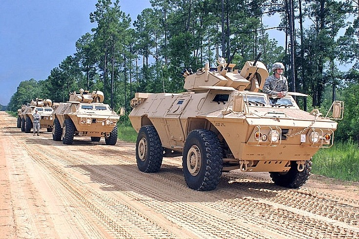 M1117 Armored Security Vehicles