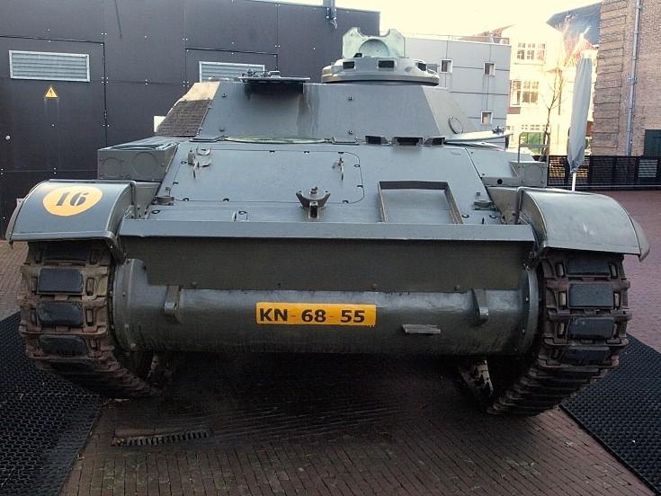 AMX 13 pantserrups infanterie