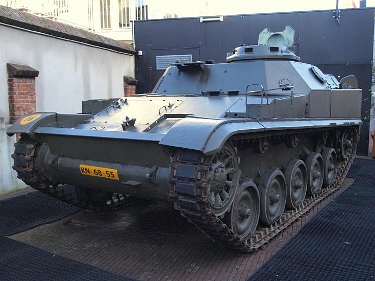 AMX 13 pantserrups infanterie (pri)