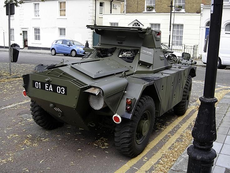 Ferret Armoured Car in Brompton