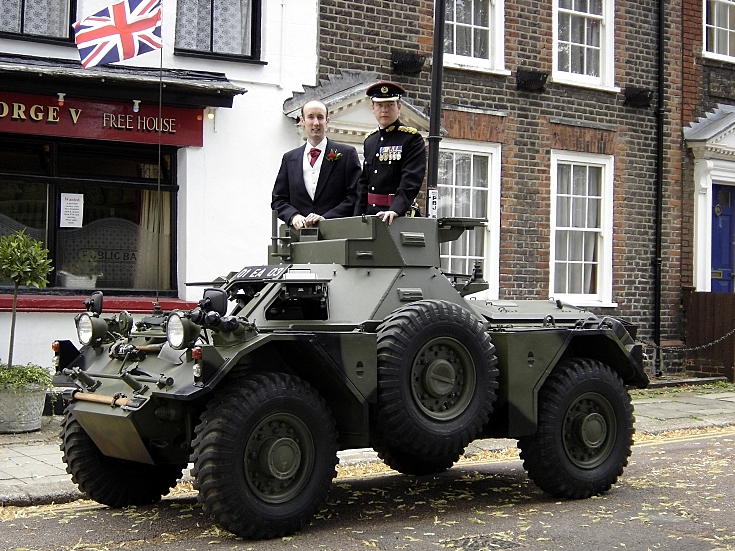 Photo of Ferret Armoured Car