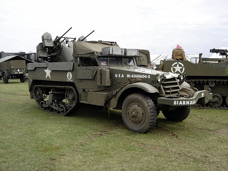 Photo of White Half Track