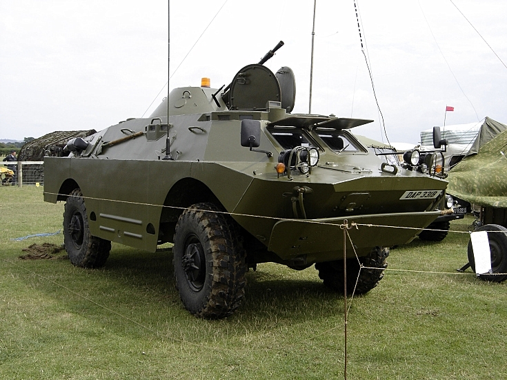 BRDM-2 Armoured Personnel Vehicle