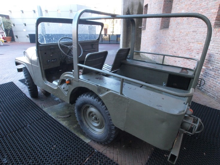 Former Dutch Army Jeep