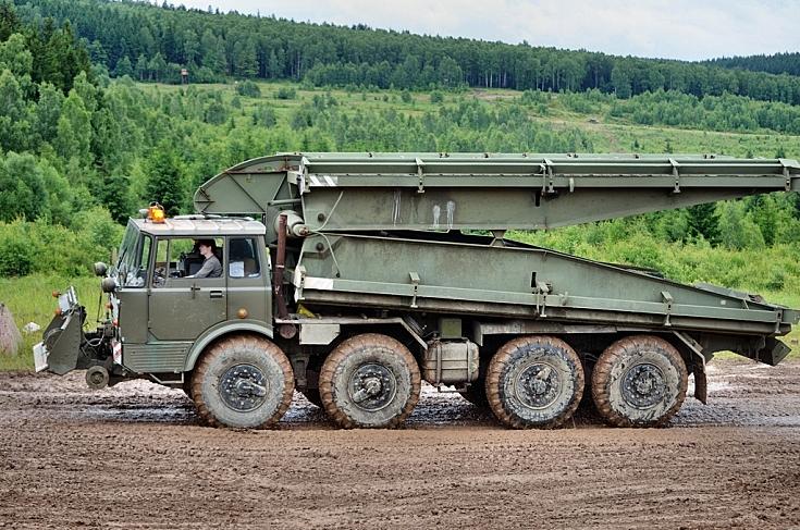 Tatra 813 AM-50 bridgelayer