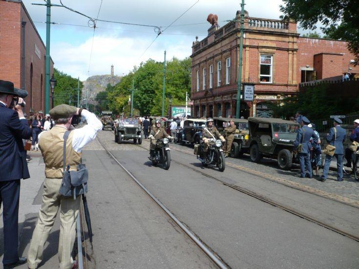 1940's Comes to Crich, Derbyshire.