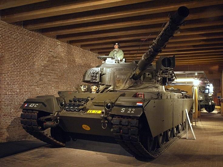 Former Dutch Army tank