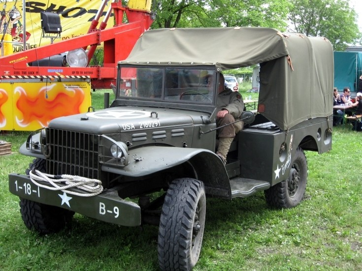 Dodge WC-51 in Krakow