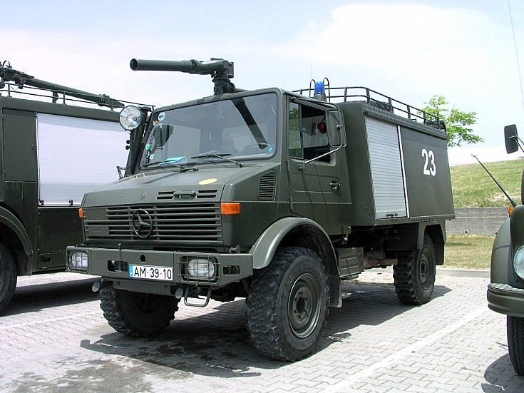 Mercedes Unimog of Air Force