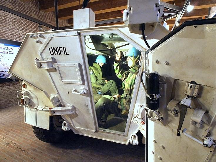 Peek inside an armoured car