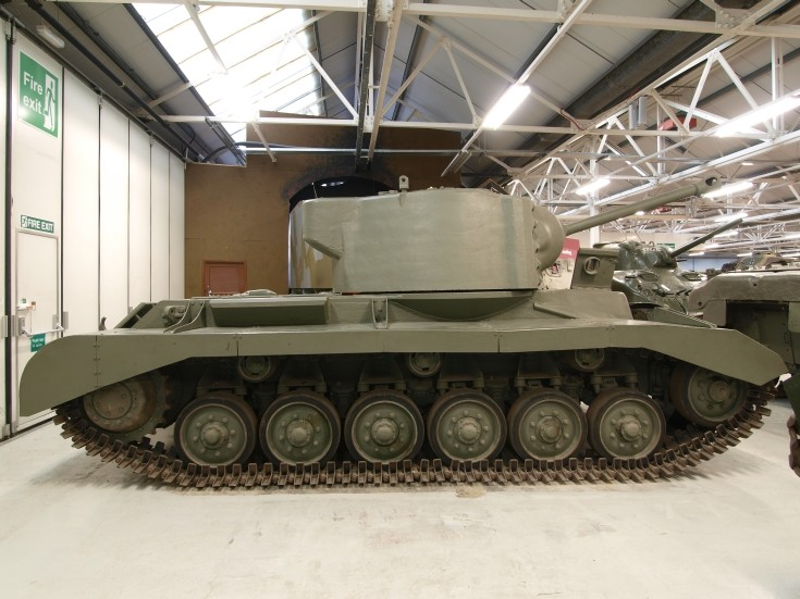 British Valiant tank