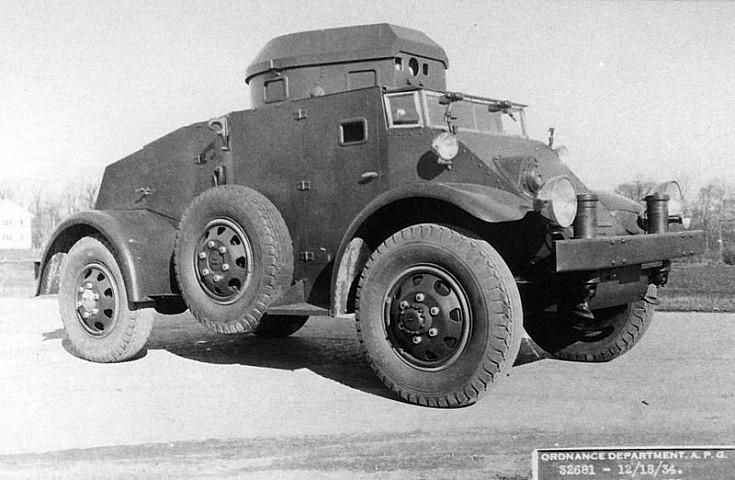 T11E1 armored car