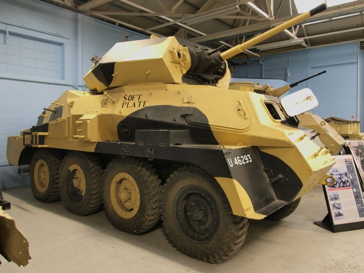 Marmon-Herrington MKVI at tank museum