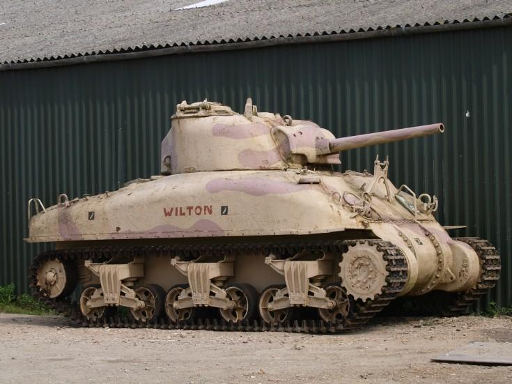 Sherman Grizzly 'Wilton' M4A1
