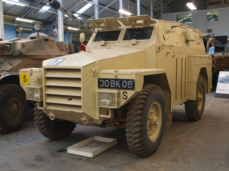 Picture of Humber One Ton Armoured Truck