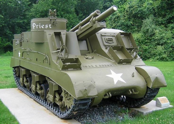 M7 Priest Howitzer