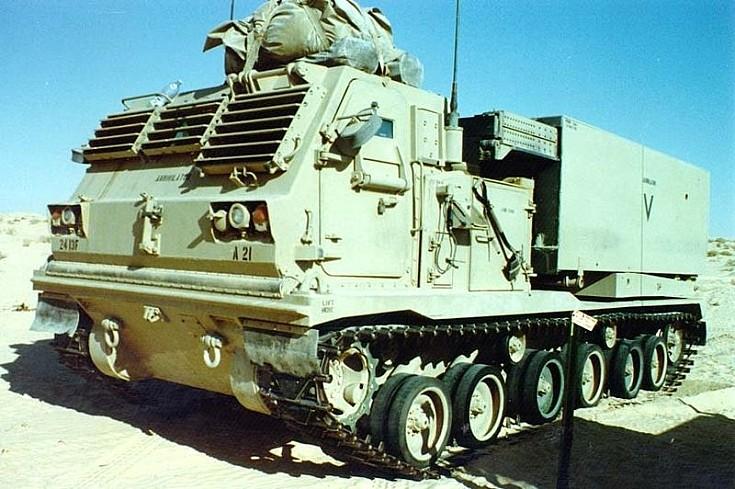 Lockheed-Martin M-270 MLRS