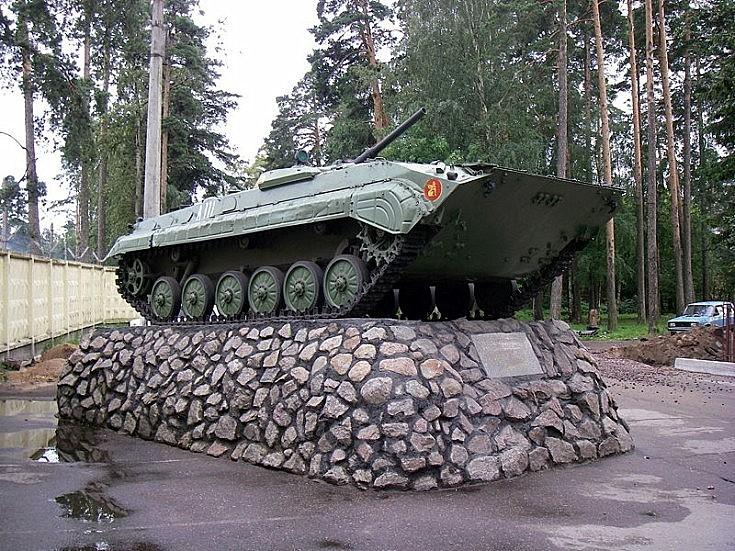 BMP-1 in Lebyazhye