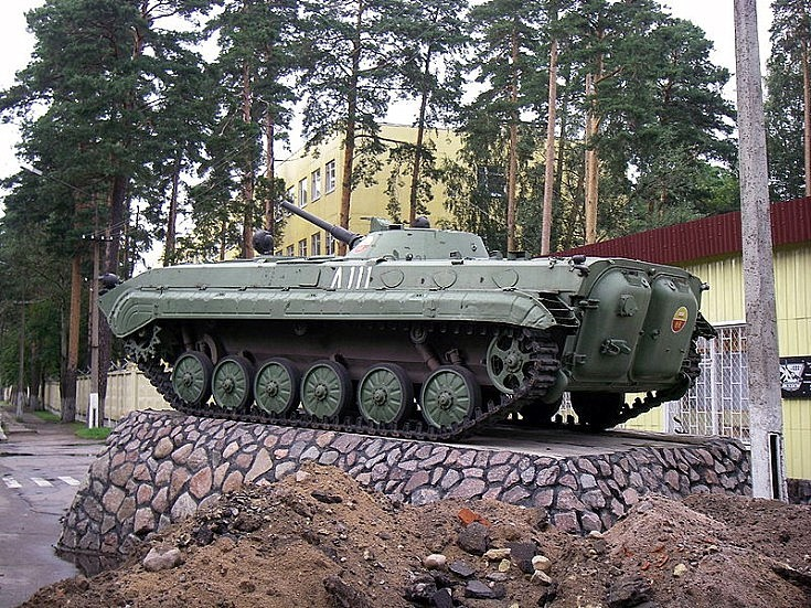 Photo of BMP-1 in Lebyazhye