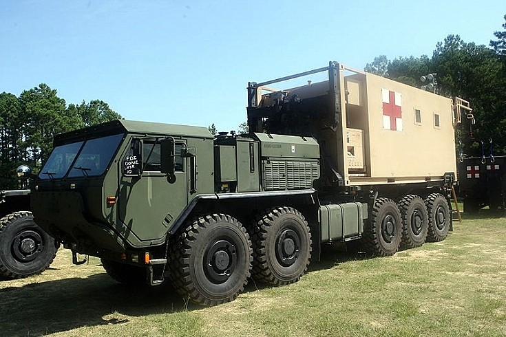 Military Vehicle Photos Lvsr Mkr16 Mobile Trauma Bay