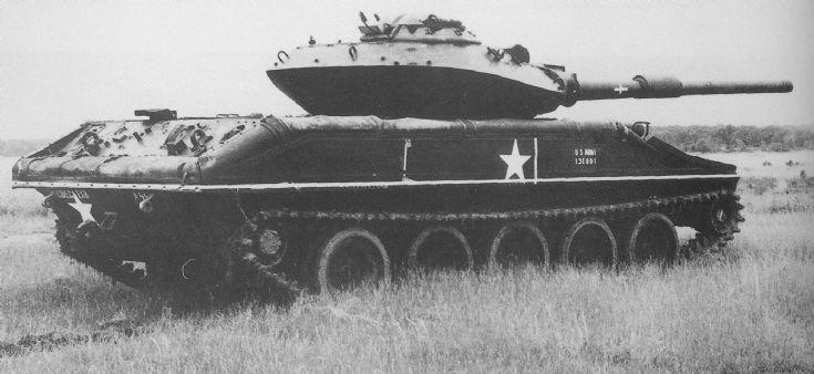 Experimental M551 Sheridan