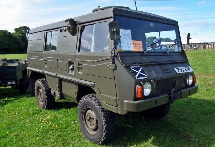 Pinzgauer all terrain vehicle