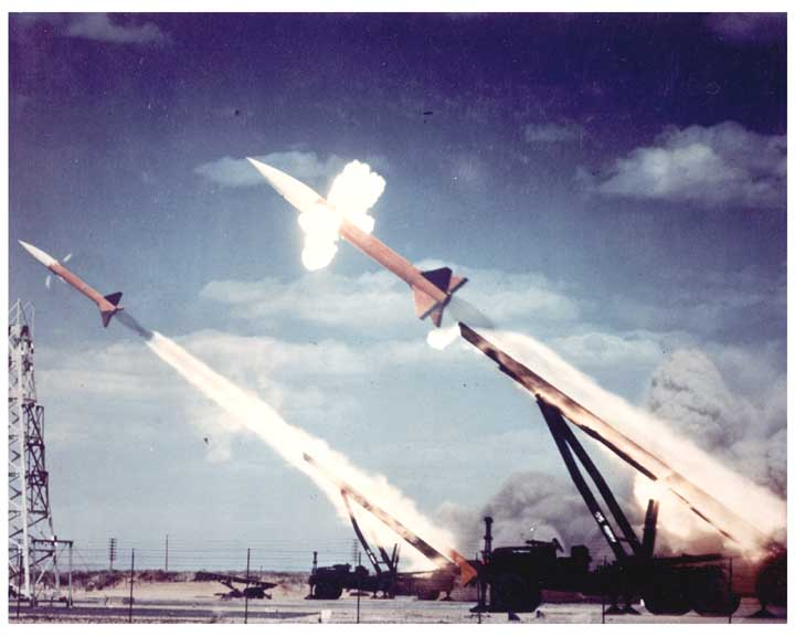 firing of MGR-1 Honest John