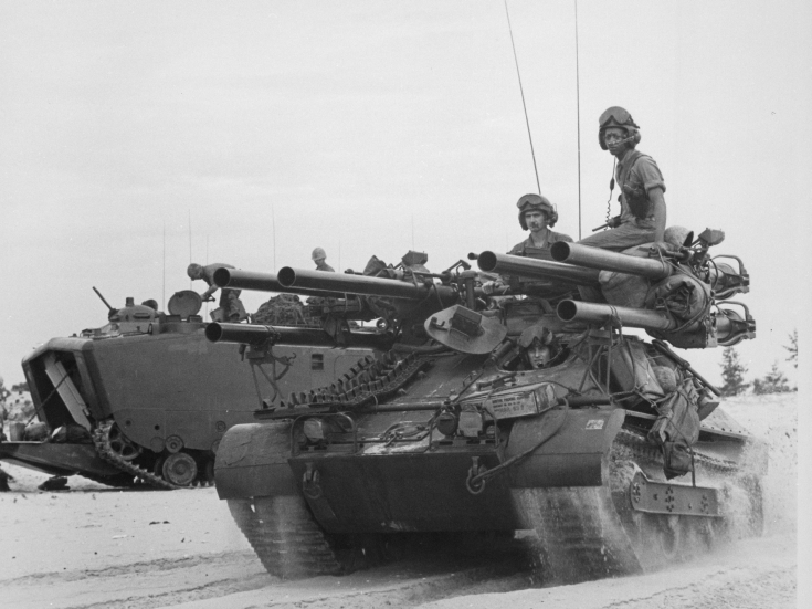 M50 Ontos in Vietnam