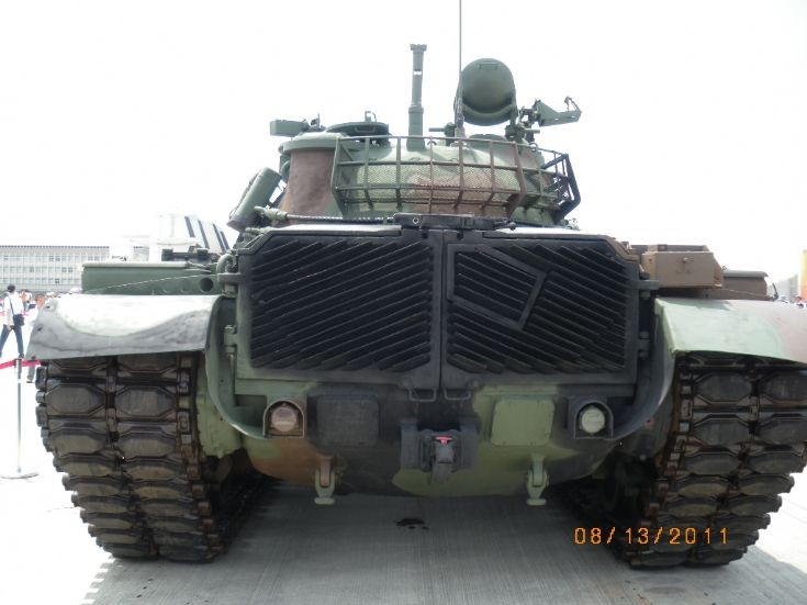 Taiwanese M48H backside view