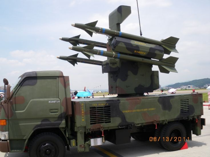 Taiwanese Chaparral missile system