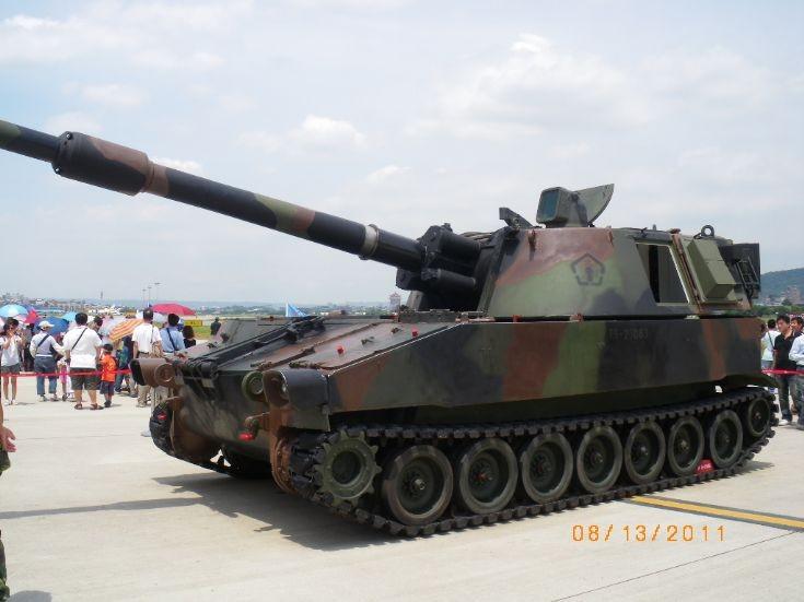 Taiwanese M109 series howitzer
