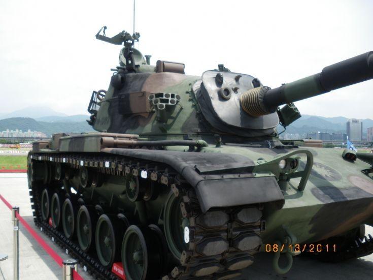 Taiwanese M48H at Taipei
