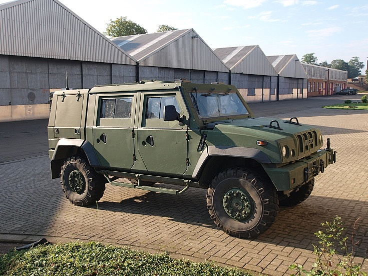 Iveco Panther armoured personnel vehicle