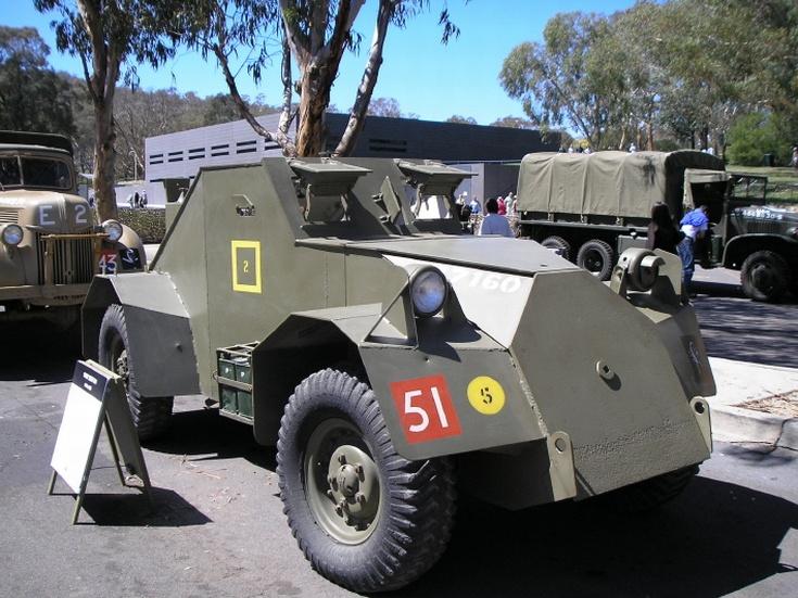 A Dingo scout car
