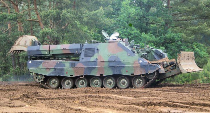 Pionierpanzer 3 Kodiak Dutch army