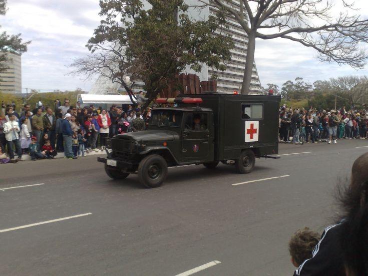 Toyota Bandeirante Ambulance