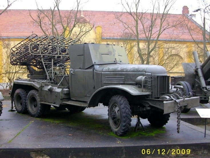 Military Vehicle Photos - 240mm 8U31 <b>BM</b>-<b>24</b> MRL