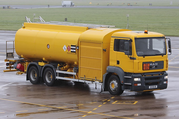MAN RAF Fuel Tanker